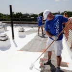 White Roof Application